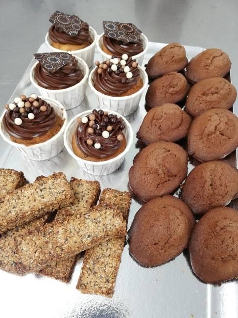 Cours de pâtisserie parent/enfant à l'atelier Amandélice