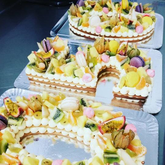 Gâteau d'anniversaire Amandélice Pâtisseries